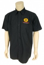 Old Nation can do all the work, but you can take all the credit in this 4.25 oz., 65/35 polyester/cotton TouchTex™ poplin work shirt. It's hard work looking soooo good!!
