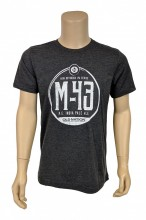 A super soft shirt, with a super soft print, with a super cool M-43 logo.  Sounds like a winner!  4.2 oz., 100% airlume combed and ringspun cotton.