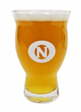 This 16oz Revival glass has it all.  It's durable, stackable, features a large bowl and narrow top trap to maximize the sensory experience.  It also features nucleation (laser etched inner grooves at the bottom that produce steady effervescent fizz).  On top of all that….ON/Old Nation logos.  Like we said, it has it all!!