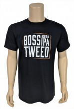 Who's the Boss?  Anyone wearing this Boss Tweed shirt, of course!  4.5 oz., pre-shrunk 100% ringspun cotton