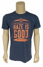 If only they made haze colored T-shirts!! You'll just have to settle for this super soft 4.5 oz., pre-shrunk 100% ringspun cotton, T-Shirt.